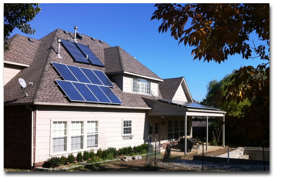 Solar Panels = Reduced Energy Bills