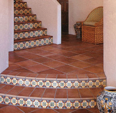 Give your home a complete makeover by installing tiles for Spanish style floor tiles