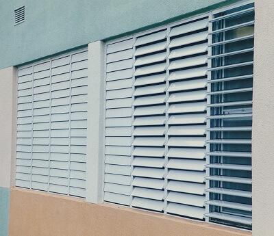 Louvered Windows