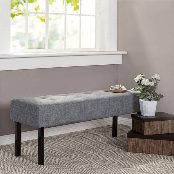 Zinus Memory Foam Bed Bench