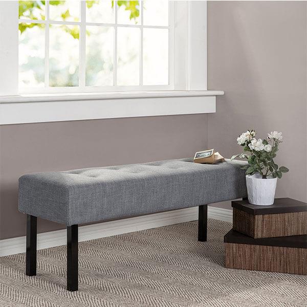 Zinus Memory Foam Bed Bench