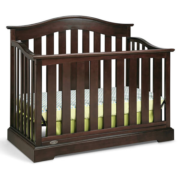 Graco Westbrook 4-in-1 Convertible Crib, Espresso