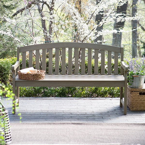 Coral Coast Amherst Curved Back Garden Bench