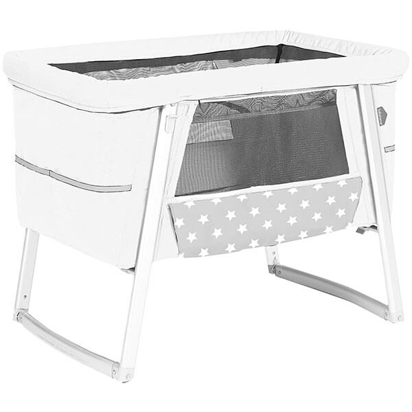 BabyHome Air Bassinet, White
