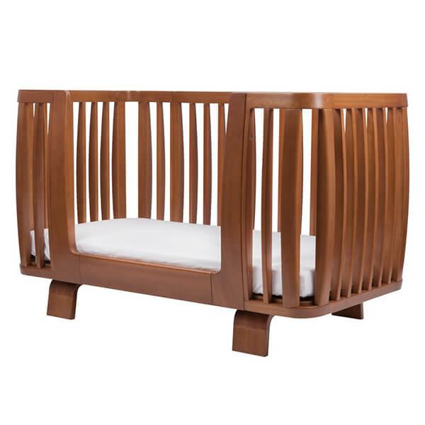 Bloom Retro Crib Bedrail, Oak