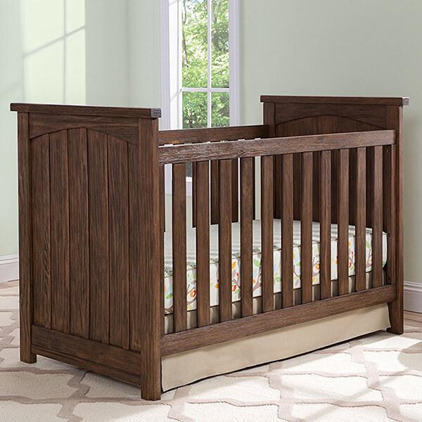 Serta Northbrook 3-in-1 Convertible Crib, Rustic Oak