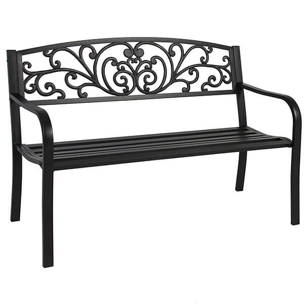 Best Choice Products Steel Outdoor Bench