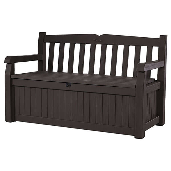 Keter Eden 70 Gallon All Weather Outdoor Storage Bench