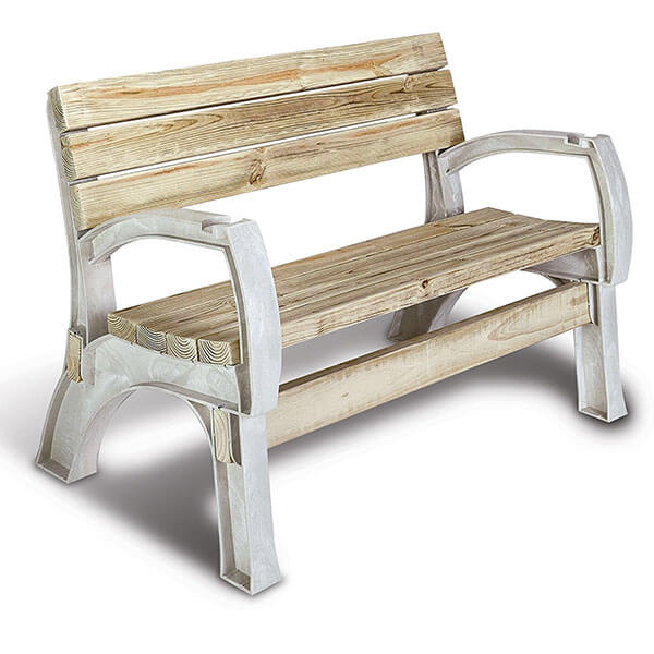 Hopkins 2x4basics AnySize Chair or Bench Ends, Sand