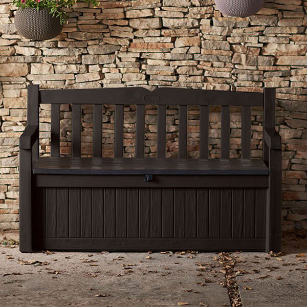 Keter Eden 70 Gallon Patio Bench