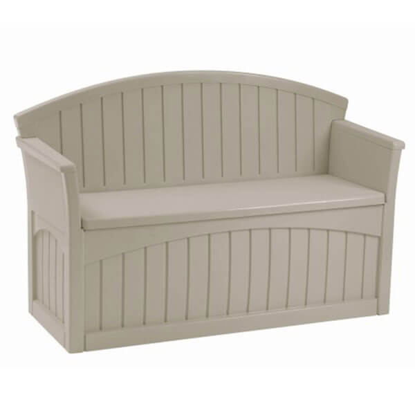 Suncast Patio Bench, Light Taupe