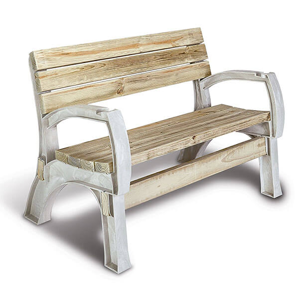 Hopkins 2x4basics AnySize Chair or Bench Ends, Sand