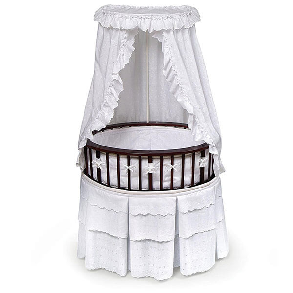 Badger Basket Elite Oval Baby Bassinet
