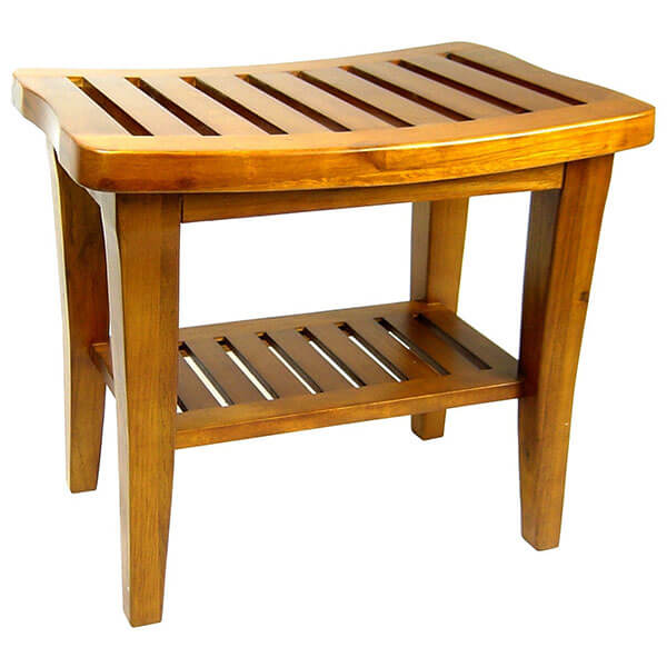 Redmon Genuine Teak Wood Bench