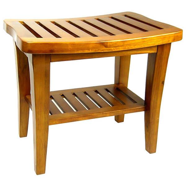 Redmon Genuine Teak Wood Bench