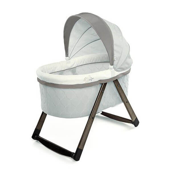 Ingenuity FoldAway Rocking Wooden Bassinet