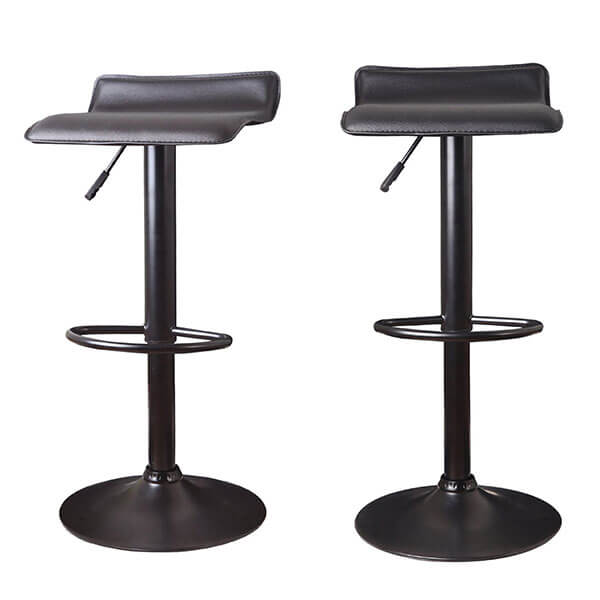 Joveco Adjustable Backless Swivel Airlift Stool