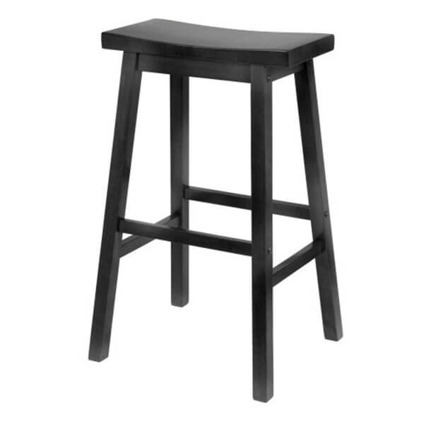 Winsome Wood 29-Inch Saddle Seat Bar Stool