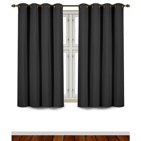 Utopia Bedding Grommet Top Blackout Curtains