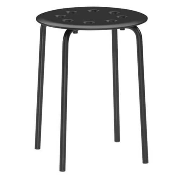 IKEA Marius Stool, Black