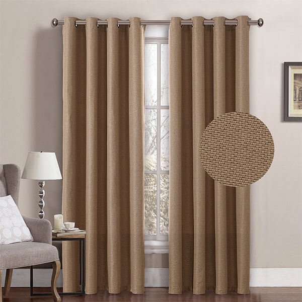 H.Versailtex Textured Linen Curtains