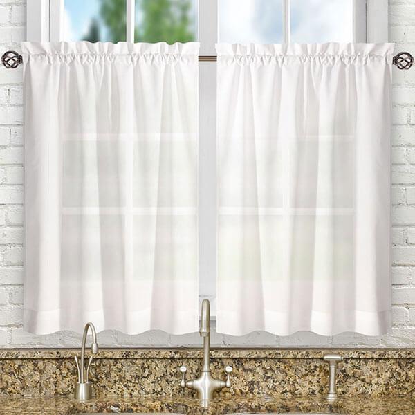 Ellis Curtain Tailored Cafe Curtains