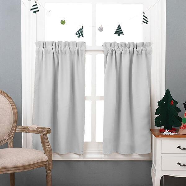 NICETOWN Half Window Room Darkening Curtains