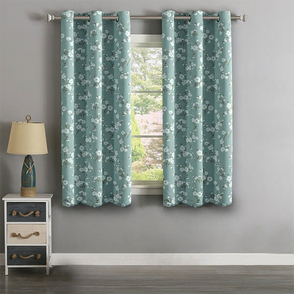 H.Versailtex Thermal Insulated Ultra Soft Rustic Kitchen Curtains