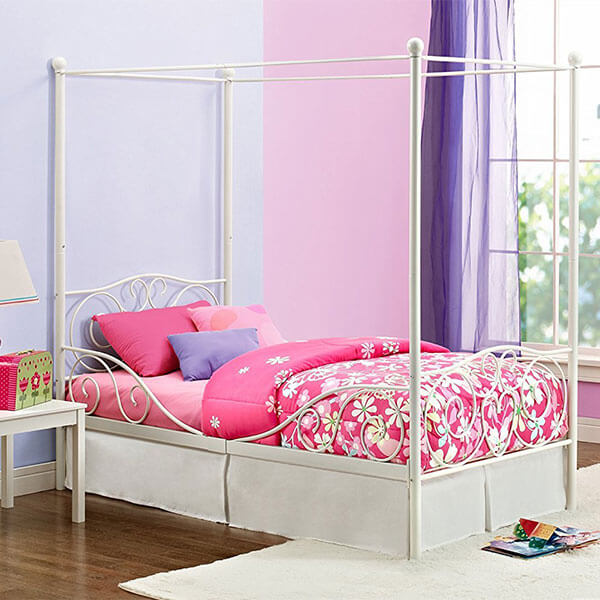 DHP Metal Canopy Bed