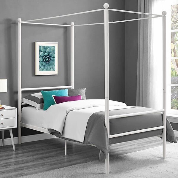 Modern Design Canopy Bed
