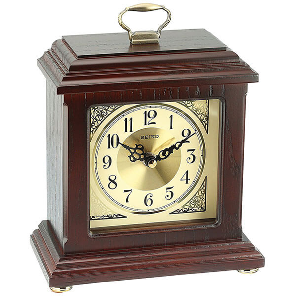 Seiko Wood Desk Clock