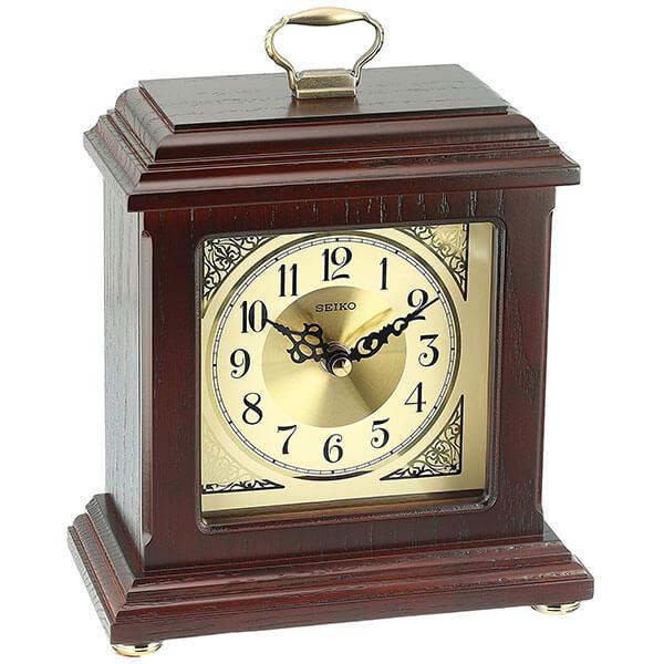 Seiko Wood Desk Clock