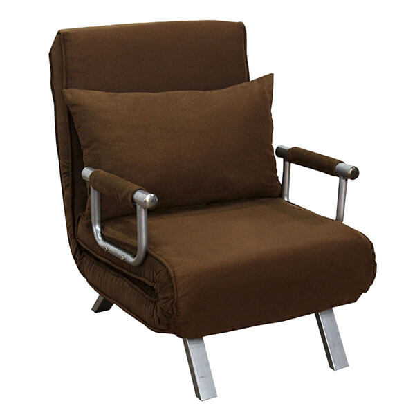 HomCom 26-inch Convertible Single Sleeper Chair Bed