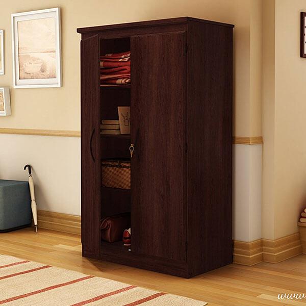 South Shore Furniture Morgan Storage Cabinet, Royal Cherry