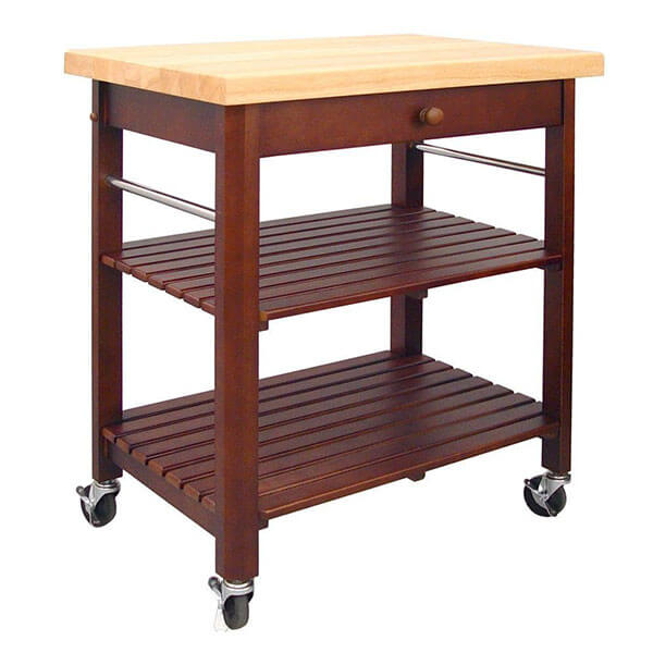 Catskill Craftsmen Cherry Kitchen Cart