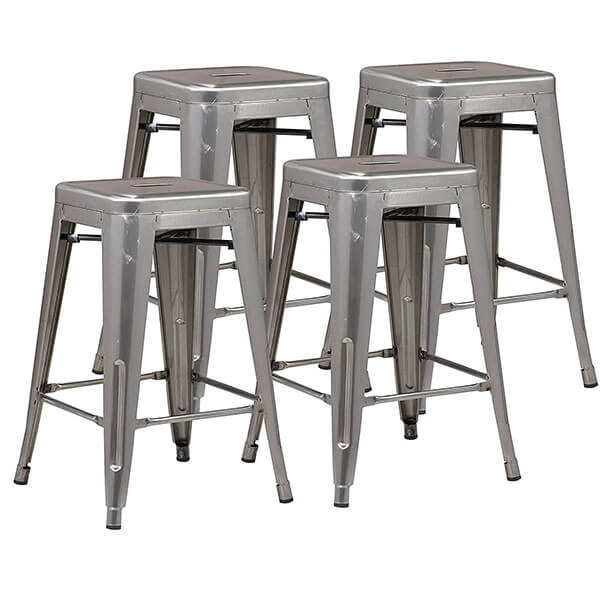 Poly and Bark Trattoria 24-inch Counter Height Stools