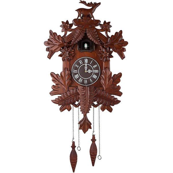 Handcrafted Wood Cuckoo Clock
