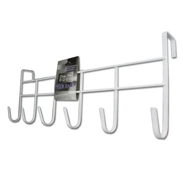Steel Over Door Hook Rack