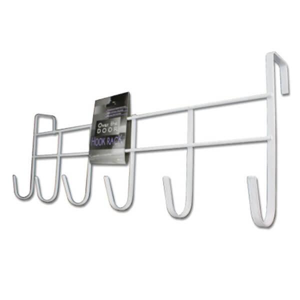 Steel Over Door Hook Rack