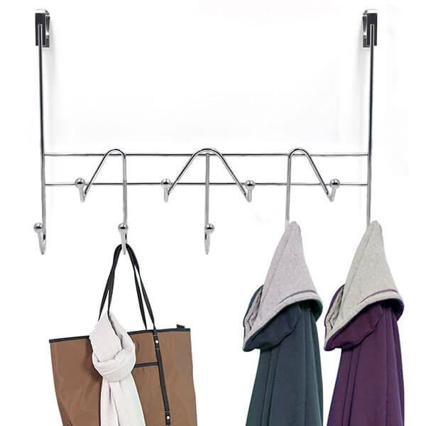 ESYLIFE Over the Door Coat Rack