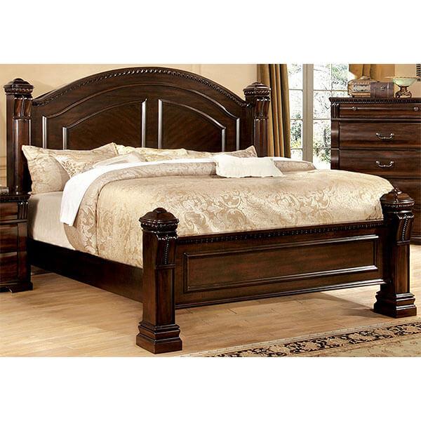 DHP Rosedale Metal Canopy Bed, Black