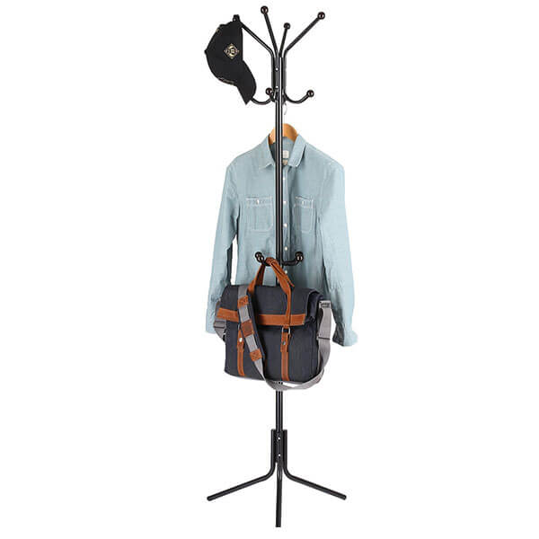HOMFA Free Standing Metal Coat Rack