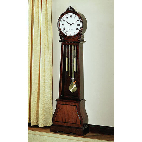 Coaster Home Furnishings Traditional Grandfather Clock, Brown