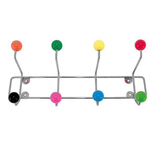 Present Time Multi Colored Kids' Coat Rack