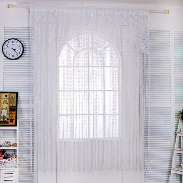 Taiyuhomes Lace Curtain