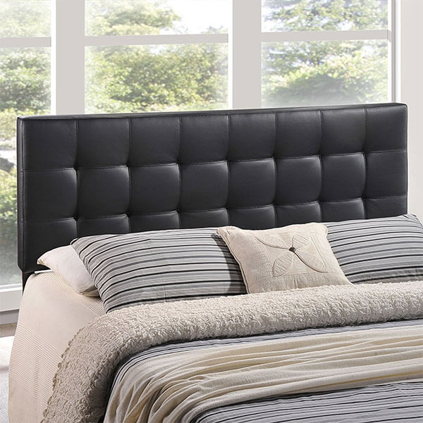 Modway Lily Upholstered Tufted Vinyl Headboard