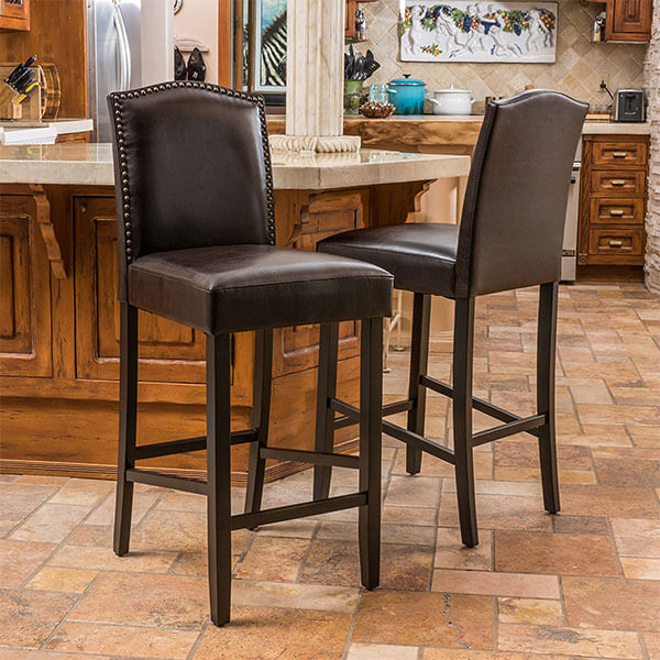 Leather Stools