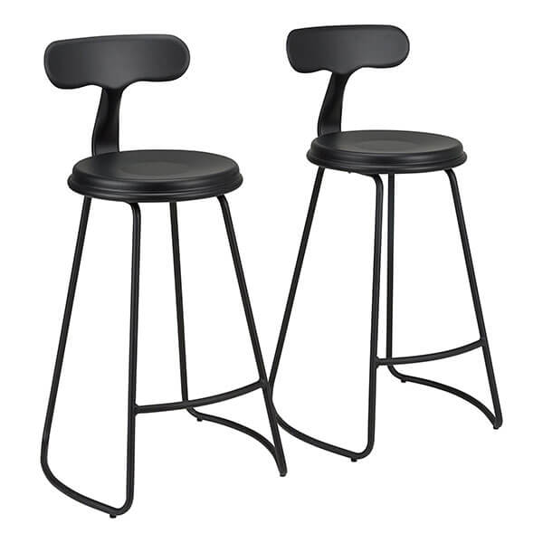 Fat Catalog Square Metal Stools (Set of 2)