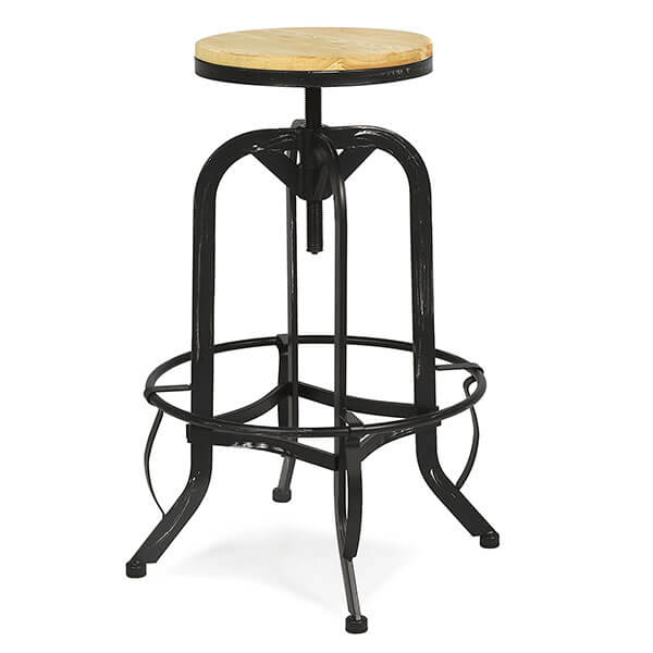 Best Choice Products Vintage Metal Bar Stool