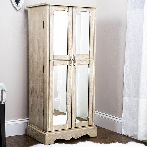 Hives and Honey Chelsea Armoire, Grey Mist